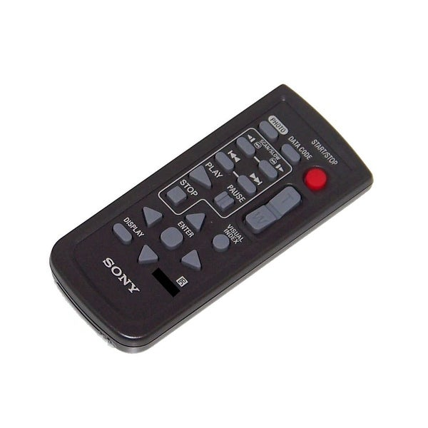 OEM Sony Remote Control Originally Shipped With: DSCH9, DSC-H9, DCRDVD808E, DCR-DVD808E, HDRXR100, HDR-XR100