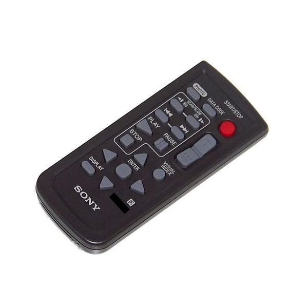 OEM Sony Remote Control Originally Shipped With: HDRSR5/C, HDR-SR5/C, DCRDVD708E, DCR-DVD708E, HDRUX7E, HDR-UX7E