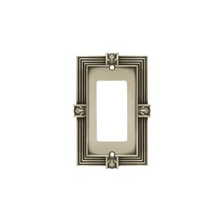 Franklin Brass 64463 Traditional Decorative Single Wall Plate - brushed satin pewter