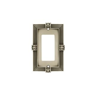 franklin brass traditional decorative single wall plate brushed satin pewter