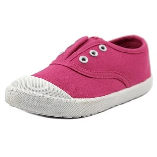 Attraction Fuxia Youth Round Toe Canvas Pink Tennis Shoe