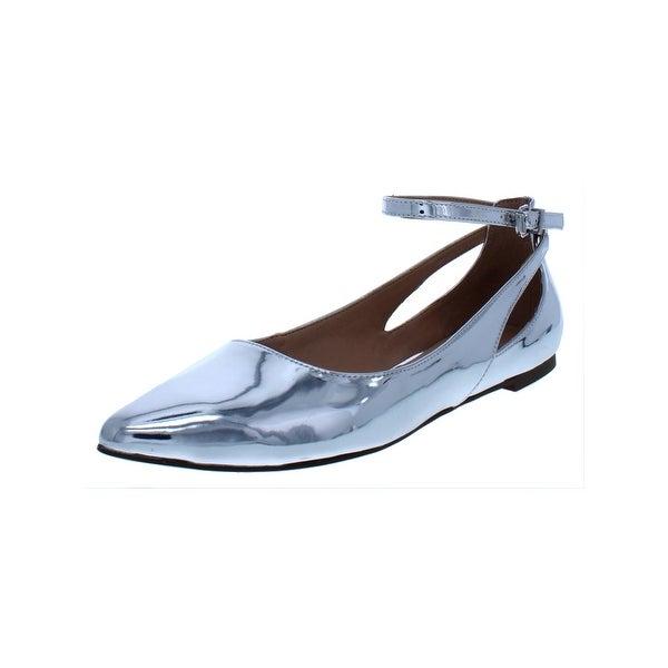 1b8f13c64b7 Shop Franco Sarto Womens Sylvia Pointy-Toe Flats Mirrored Fashion ...