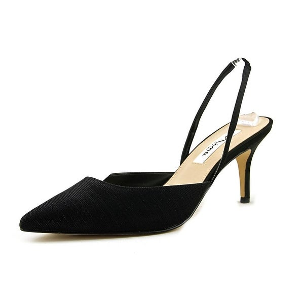 Nina Tracey Women Black Luna Pumps