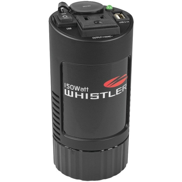 Whistler Xp150I 150-Watt Cup Holder Power Inverter