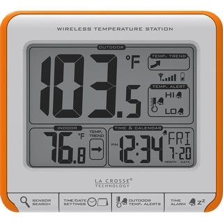 La Crosse Technology 308-179OR Wireless Temperature Station