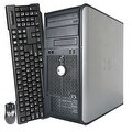 Dell OptiPlex 780 Computer Tower Intel Core 2 Duo E8400 3.0G 8GB DDR3 1TB Windows 7 Pro 1 Year Warranty (Refurbished) - Silver - Thumbnail 2