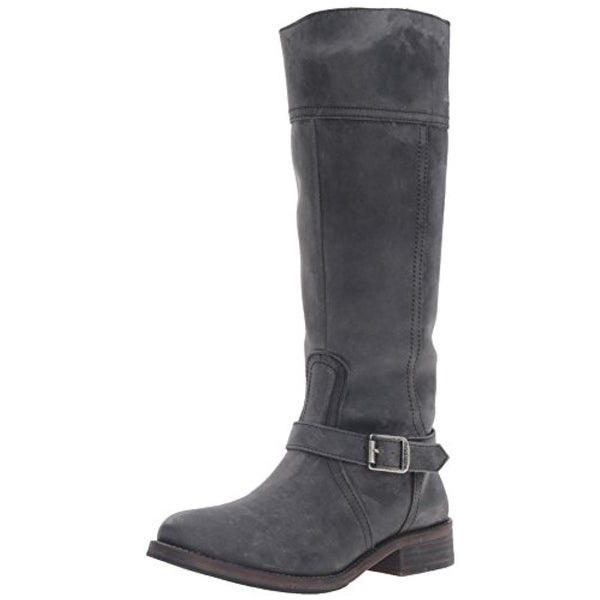 Wolverine Womens Margo Riding Boots Leather Distressed - 5 medium (b,m)