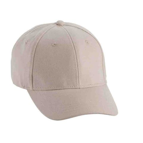Page & Tuttle Womens Solid Brushed Structurd Cap Golf Athletic Hats Cap