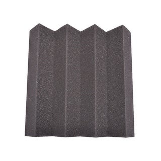 Seismic Audio - Charcoal 3 Inch Studio Acoustic Sound Absorbing Foam Noise Dampening