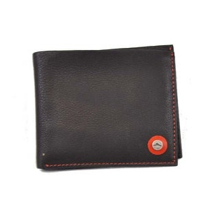 Tommy Bahama Mens Genuine Leather Wallet Black One Size