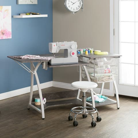 Sew Ready Pro Stitch Sewing and Craft Table with Storage