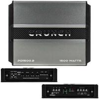 Crunch Power Drive 2-Channel 1500W Amplfier