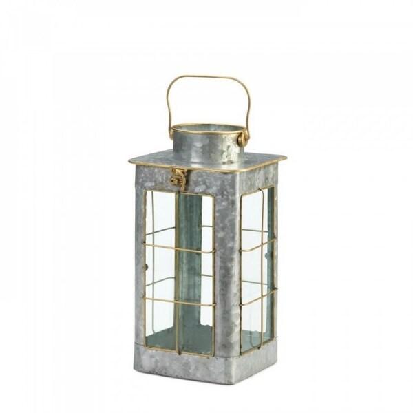 Small Country Farmhouse Galvanized Lantern