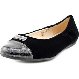 Venettini 55-Shana Round Toe Canvas Flats