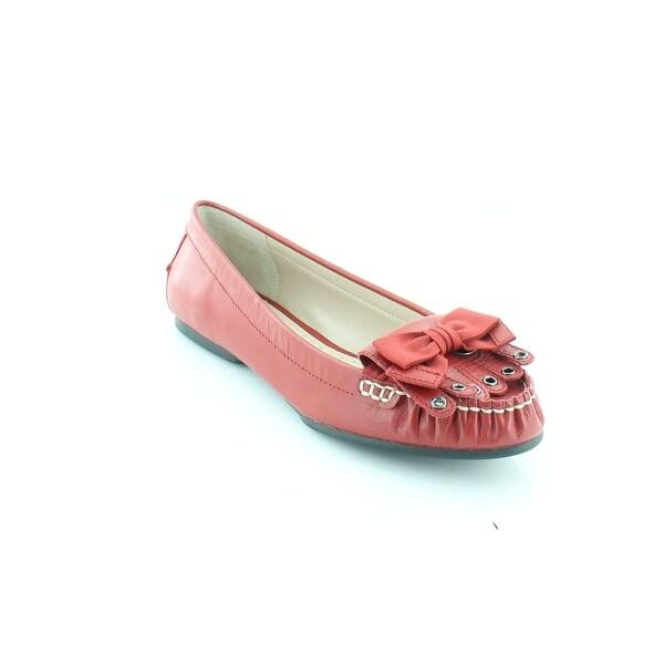 Adrienne Vittadini Toby Women's Flats & Oxfords Red-KS