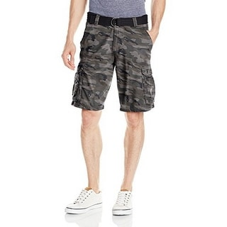 Lee Mens BELTED DUNGAREES WY SHORT/VFA