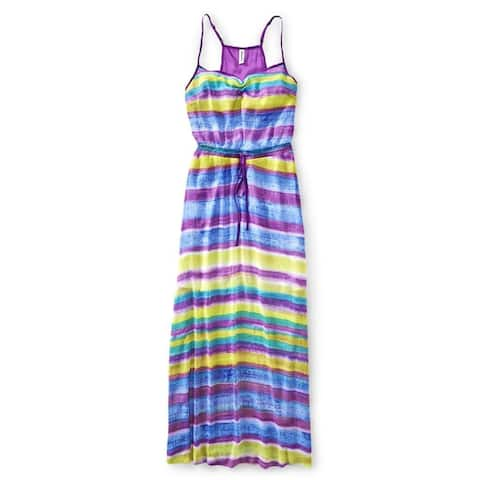 Aeropostale Womens Chiffon Maxi Dress