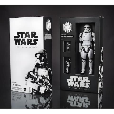 "Star Wars Black Series 6"" Figure: First Order Stormtrooper (SDCC'15 Exclusive) - multi"