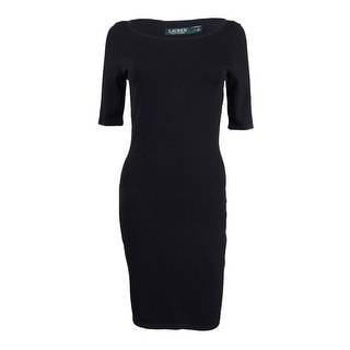 Lauren Ralph Lauren Women\u0027s Bodycon Sheath Dress - Black