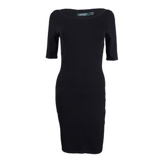 Lauren Ralph Lauren Women's Bodycon Sheath Dress - Black