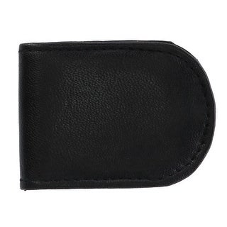 Link to CTM® Men's Basic Leather Money Clip - one size Similar Items in Wallets