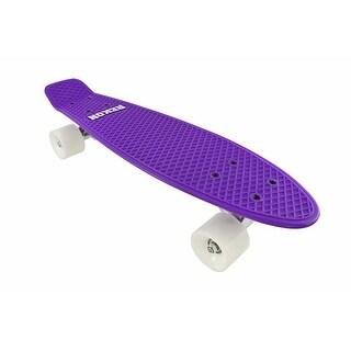 Rekon Glow in the Dark Purple Banana Cruiser Skateboard 22 1/2 In. X 6 In.