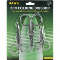 Folding Scissor Set 3pcs-