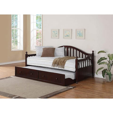 Milan Cappuccino Twin Daybed