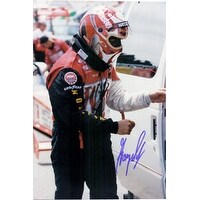 Signed Scelzi Gary 8x12 Photo Can be cut down to make an 8x10 autographed