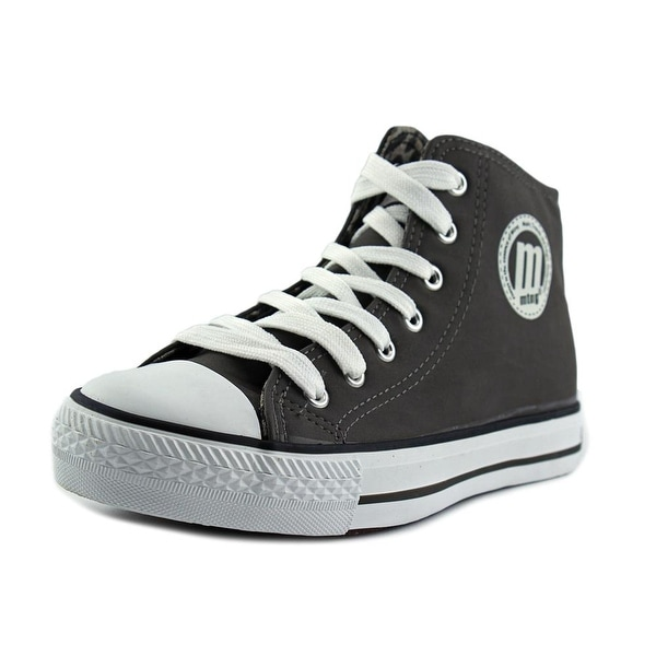 MTNG 13992 Women Leather Gray Fashion Sneakers