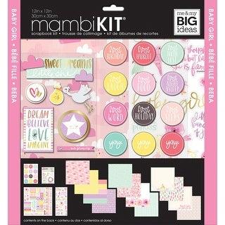 "Me & My Big Ideas Page Kit 12""X12""-Baby Girl"