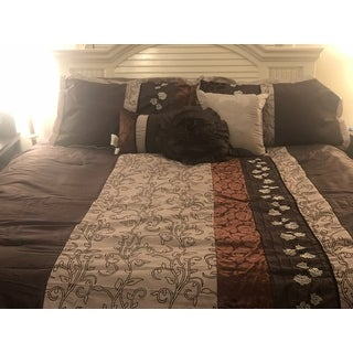 Nanshing Riley Purple 7-piece Bedding Comforter Set
