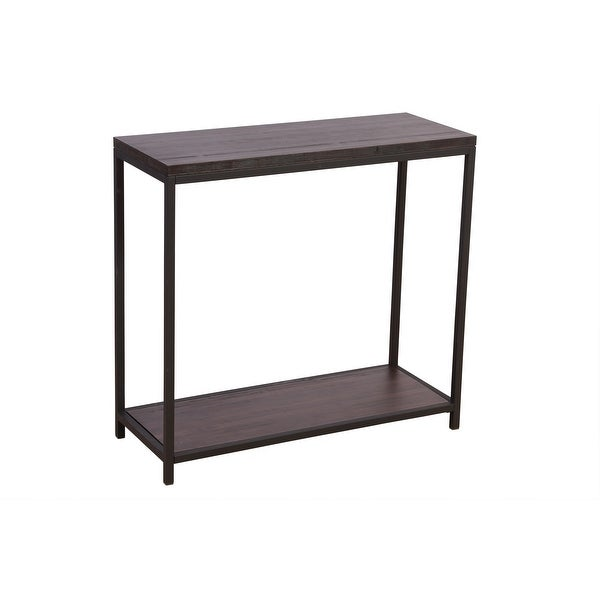 2 Tier Solid Bamboo Steel Frame Console Table. Opens flyout.