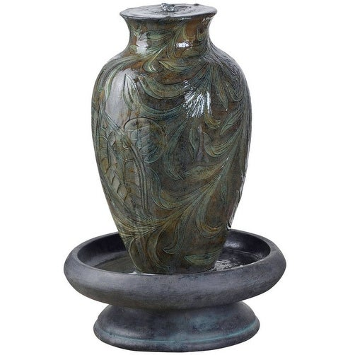 Bond Y96591 Brielle Fountain, Polyresin, Grey