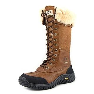 Ugg Australia Adirondack Tall Women Round Toe Leather Winter Boot