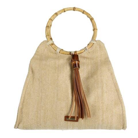 64de050393c Sun N Sand Women s Satchel Bag with Round Handle - one size