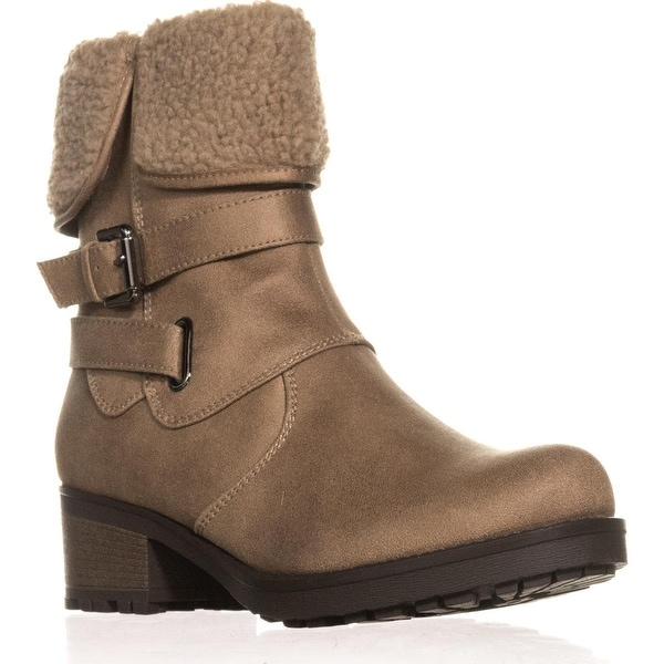 Cliffs by White Mountain Bandwagon Winter Boots, Stone - 8 us