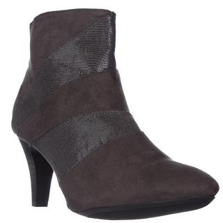 KS35 Milann Ankle Booties - Grey