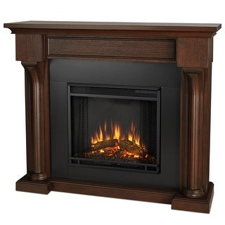 Real Flame 5420E-CO Verona Electric Fireplace in Chestnut Oak - Chestnut Oak
