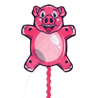 "Ridley's Children's When Pigs Fly Giant Kite, Plastic & Polyester - Includes Kite String, Handle & Instructions - 4.33""H"
