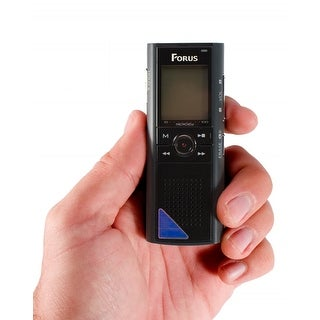 Forus Fs2 Voice & Phone Recorder With Voice Activated Recording And Earphones