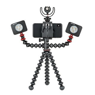 Gorillapod Mobile Rig For Vlogging With Phone Mount And 2 Light Mounts