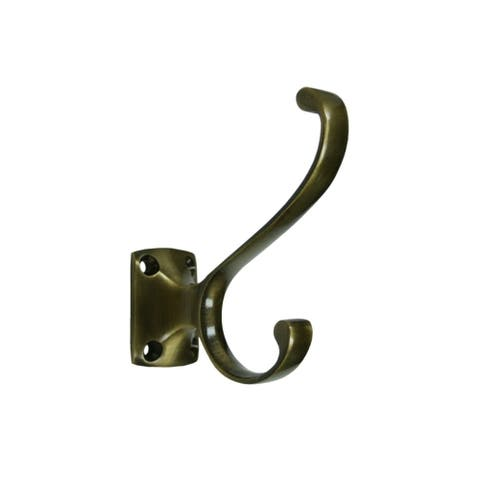 Deltana CAHH35 Double Prong Coat and Hat Hook