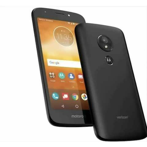 Motorola Moto E5 Play 16GB Black Verizon Smartphone MOTXT1921-7 EXCELLENT