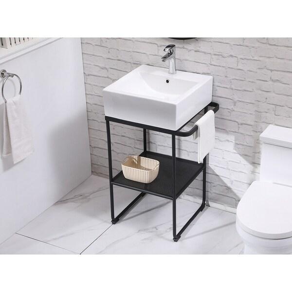 21 Wide Single Bathroom Vanity Overstock 32570922