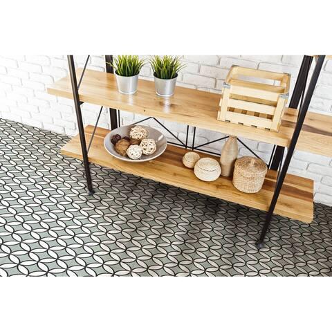 8x8 Brilliant Green Porcelain Floor and Wall Tile (3.88 Sq. Ft./ 9 pcs per box)