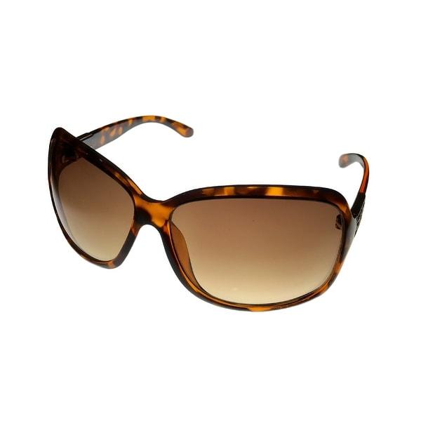 Jill Stuart Womens Sunglass 1026 2 Demi Square Fashion, Gradient Lens - Medium