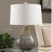 Uttermost 27057-1 Batova Smoke Gray Lamp