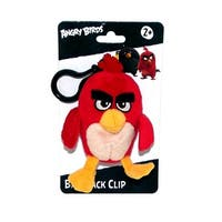"Angry Birds Movie 4.5"" Plush Clip On: Red - multi"