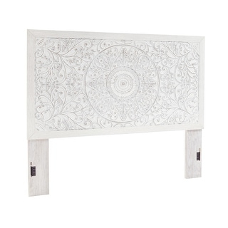Link to Paxberry Panel Headboard Similar Items in Wall Sculptures